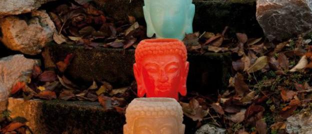 Buddha Wachswindlichter