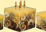 Kerzen Zitrone